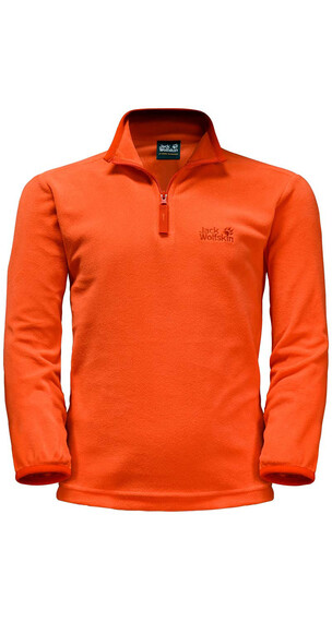 Jack Wolfskin Gecko Pullover Kids flame orange